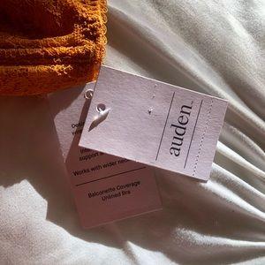 Auden Intimates & Sleepwear - Yellow lace Auden bra